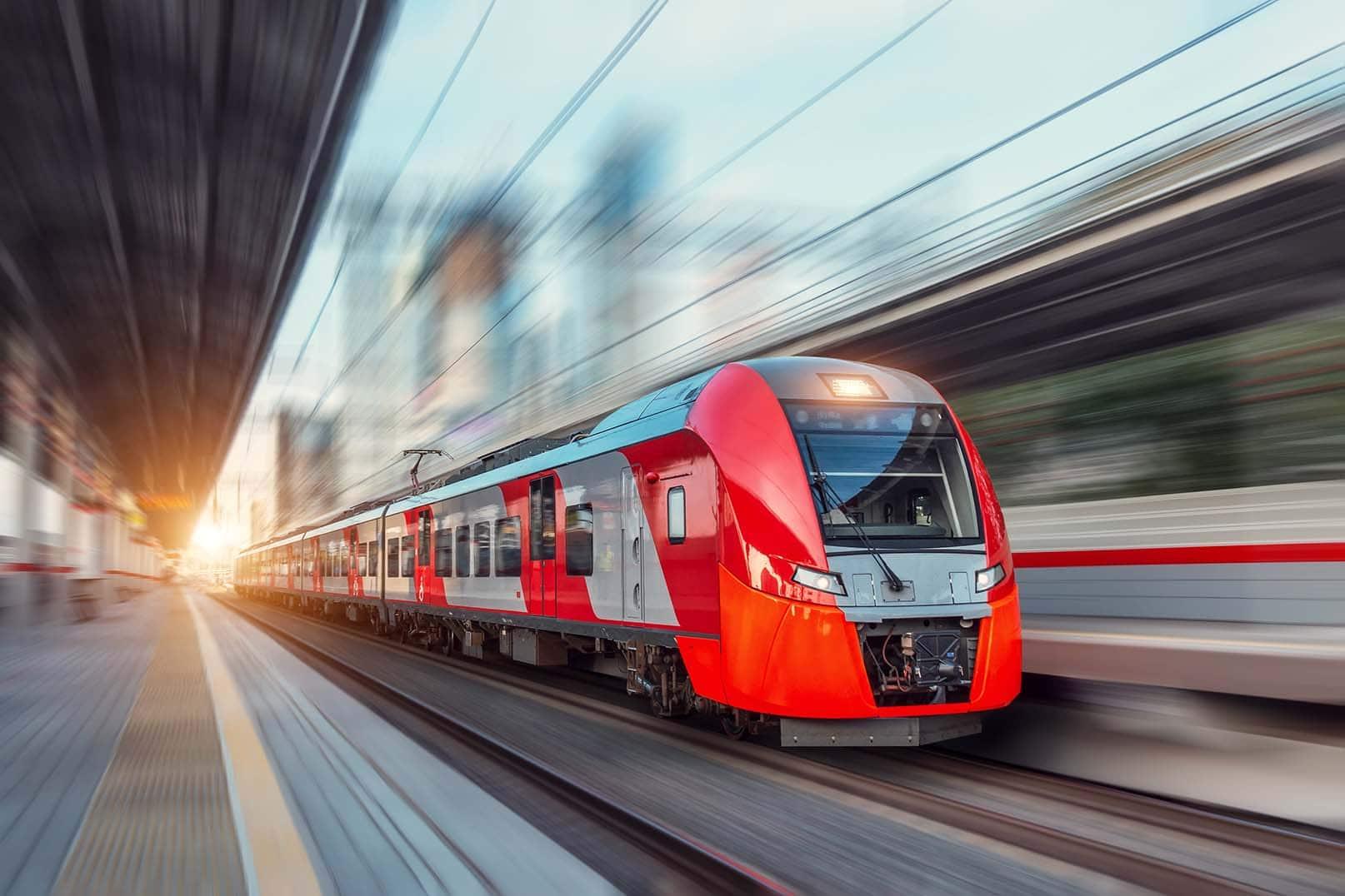 Tåg och spårbundet